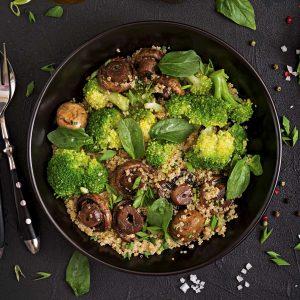 Gemüse-Bowl Burgberg